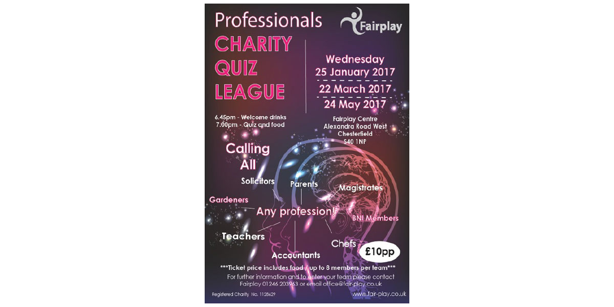 Fairplay Professionals Quiz League <span>24 May 2017</span>