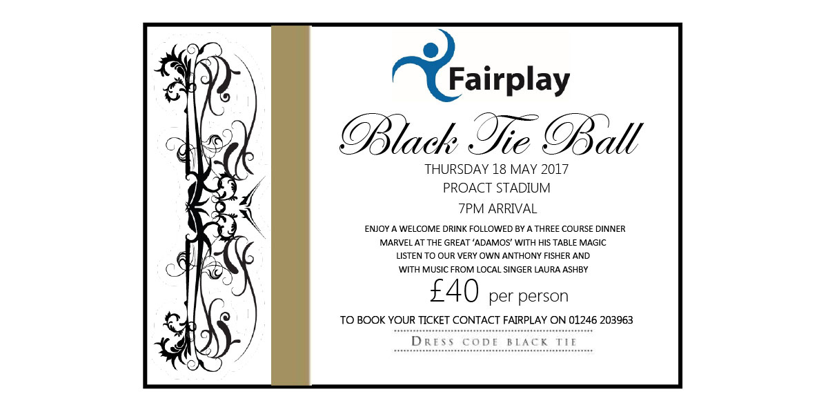 Black Tie Ball <span>18 May 2017</span>