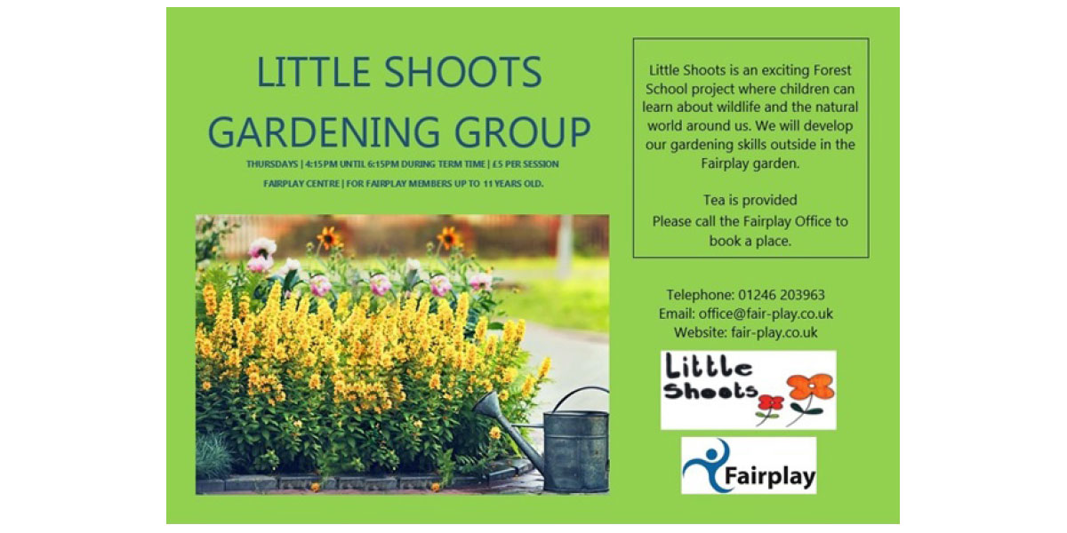 Little Shoots Gardening Group <span>Thursdays – 4:15pm Until 6:15pm</span>