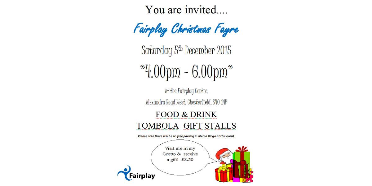 Fairplay Christmas Fayre