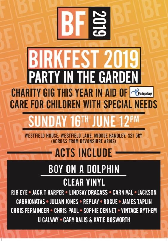 Birkfest 2019 – 16th June 2019