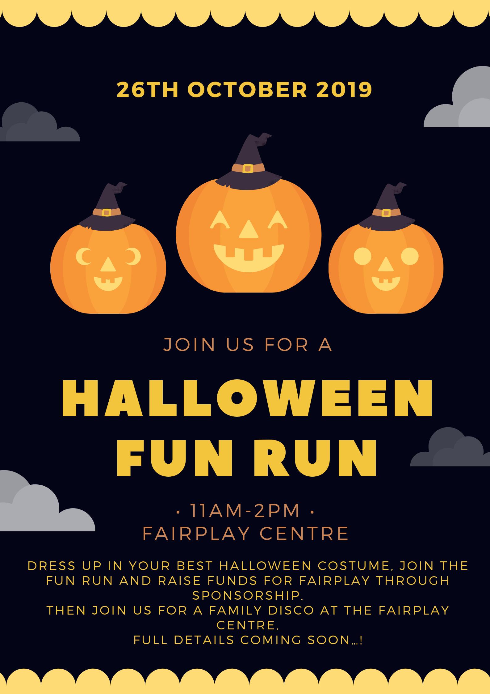Halloween Fun Run – 26th October 2019