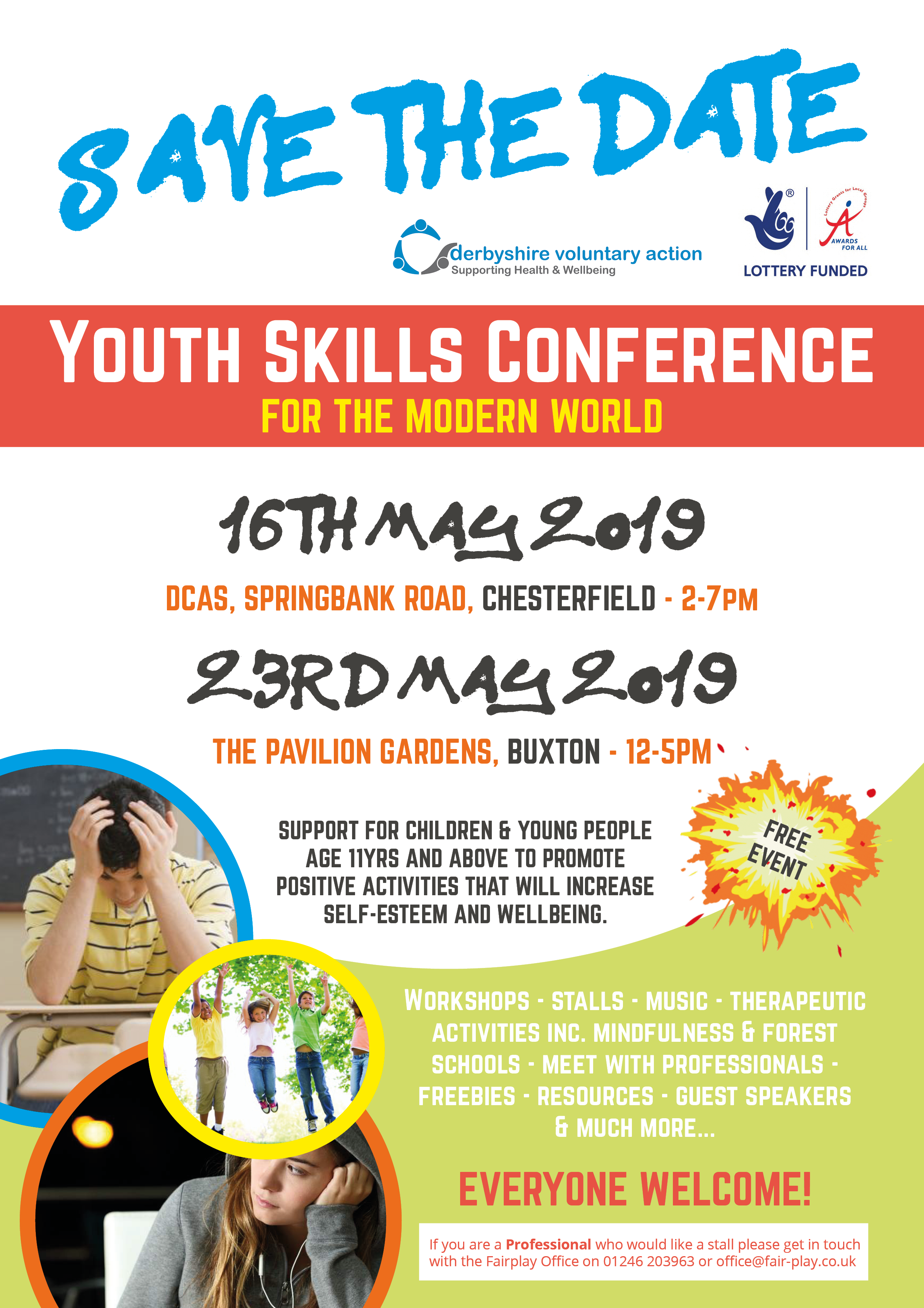 Youth Skills Conference – 23rd May 2019