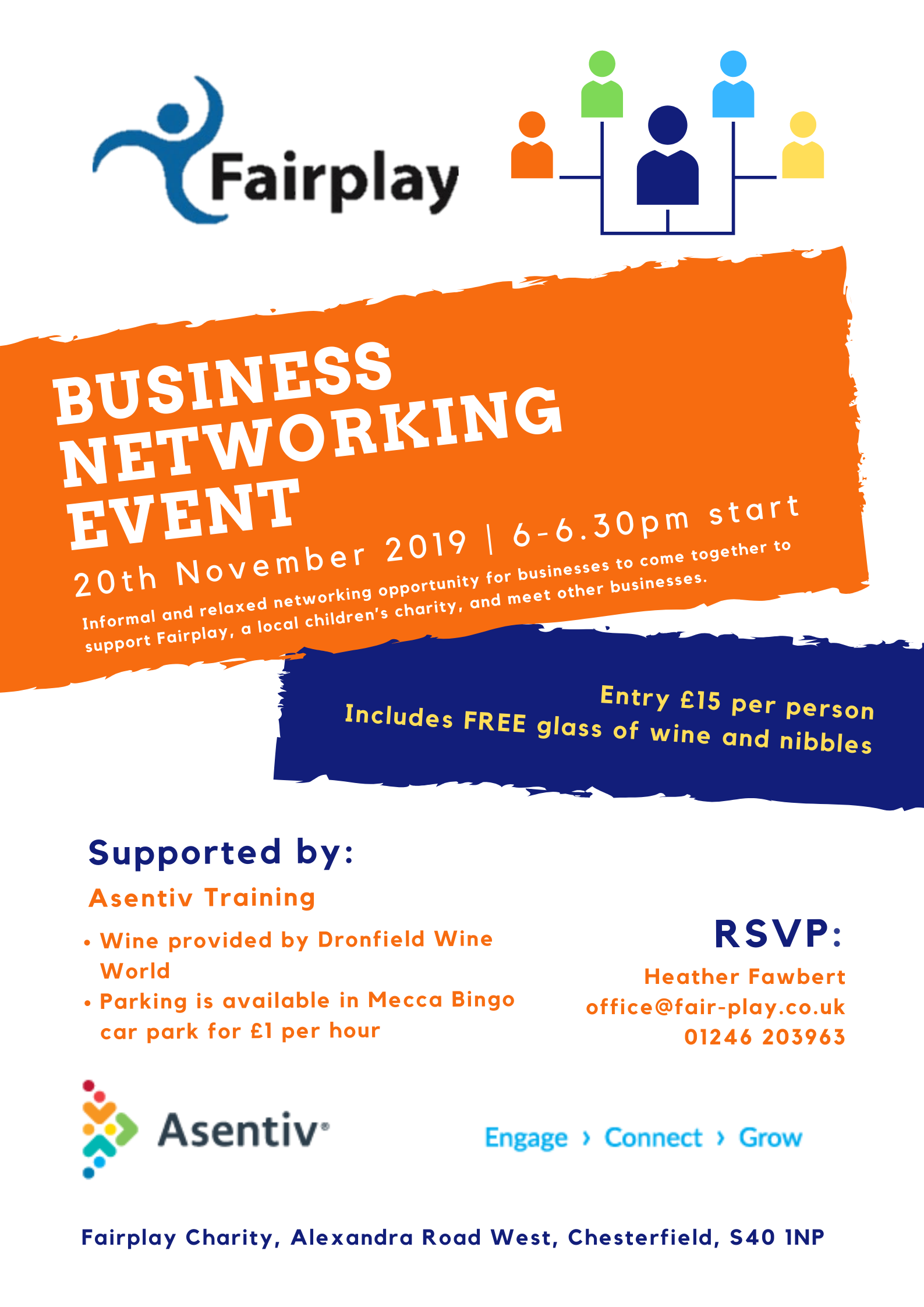 Business Networking Event <span>20th November 2019</span>