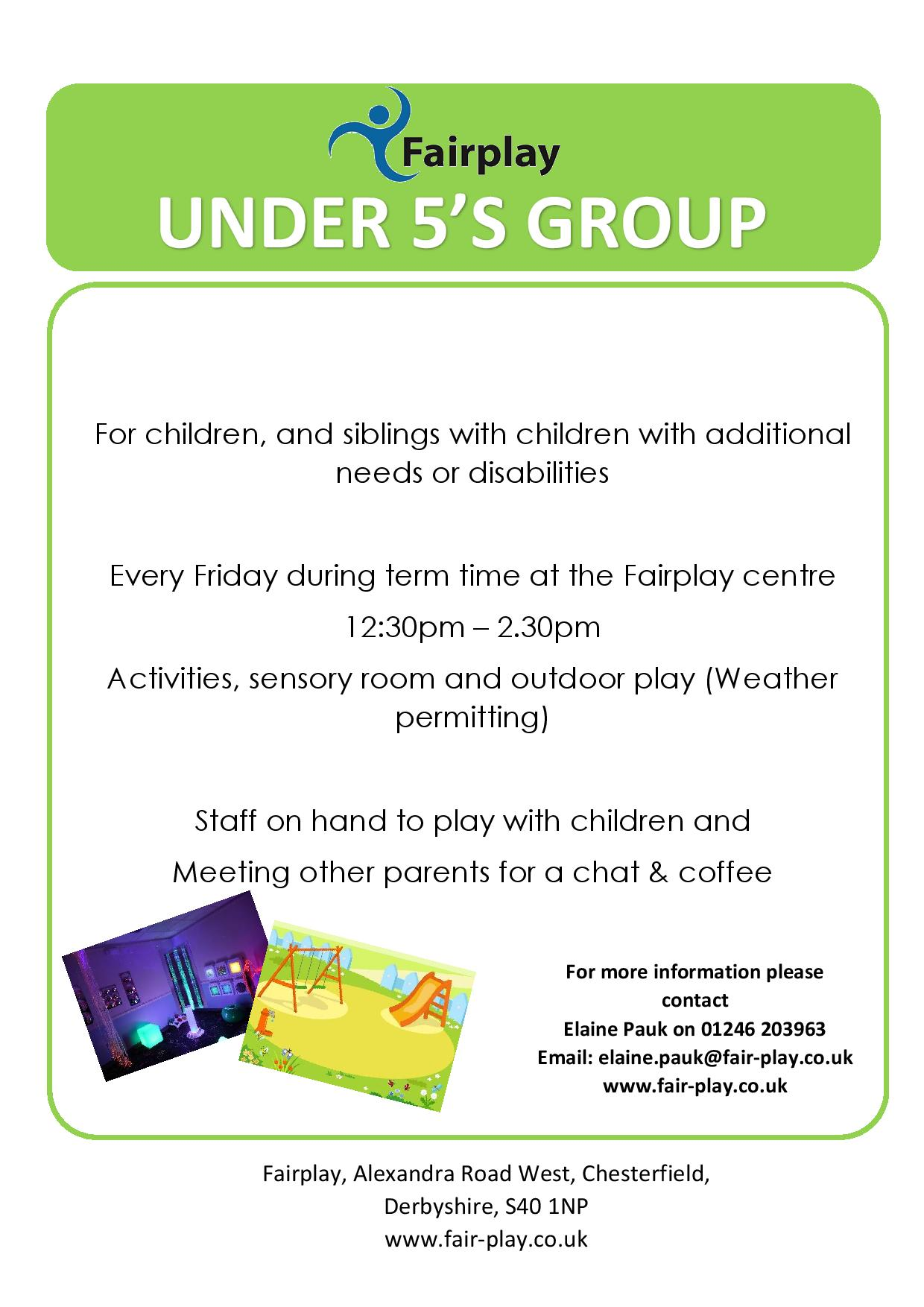 Under 5's Group